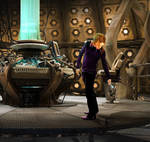 Tim Minchin in the TARDIS