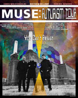 Pretend Muse Tour Poster by Isensmith