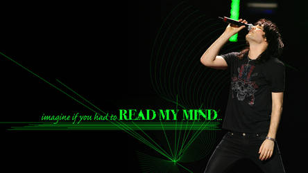 Noel Fielding Read My Mind Wallpaper
