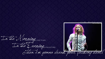 Tim Minchin Lyric Wallpaper 1/3