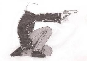 Unfinished Gunman by Isensmith