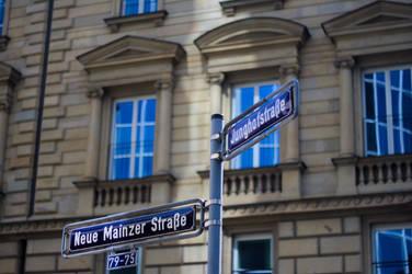Frankfurter Strasse by dulcechokolate