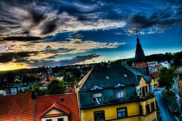 German Sunset by dulcechokolate