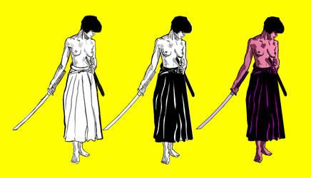 Samurai Girl by lanerp