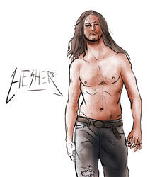 Hesher Sketch by lanerp