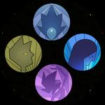 Diamond Quadforce Circles