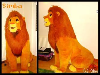The Lion King ~5ft  Douglas Simba Plush by OliveTree2