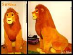 The Lion King ~5ft  Douglas Simba Plush