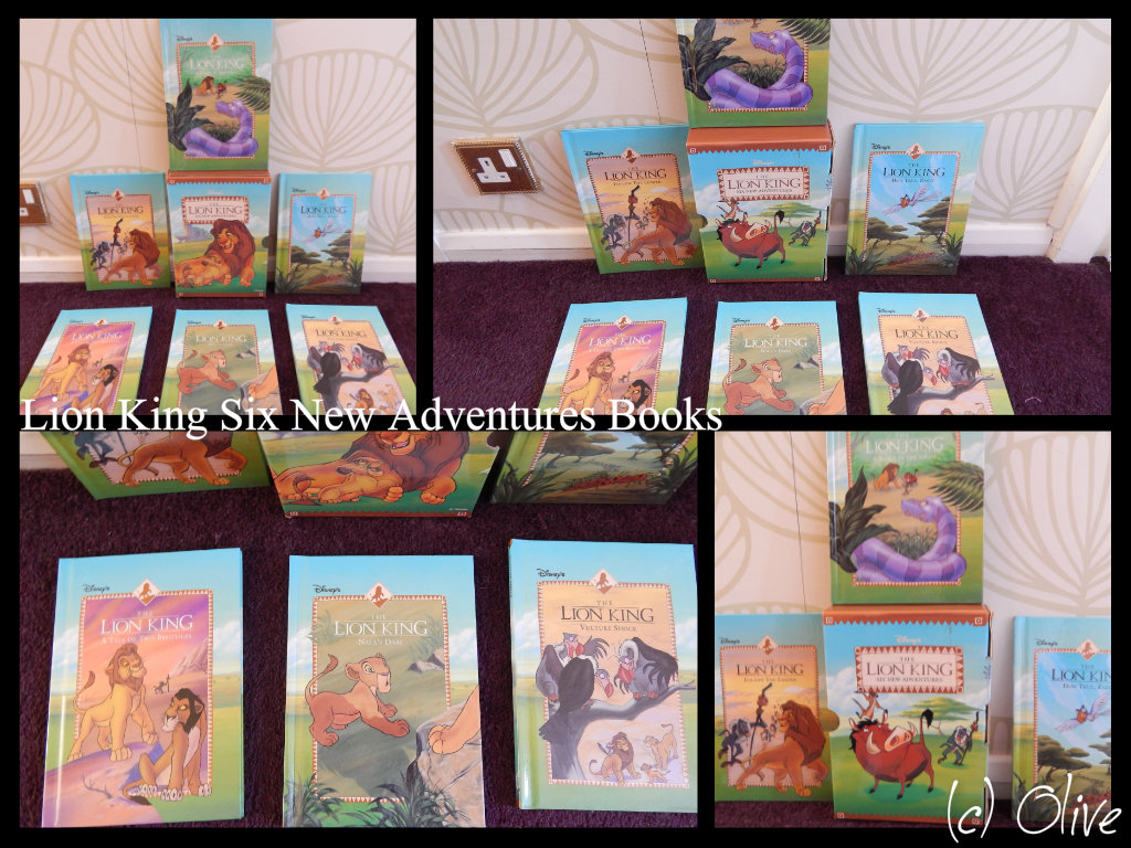 Lion King Six New Adventure Books By Olivetree2 On Deviantart