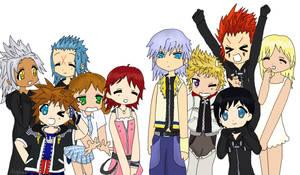 Kingdom Hearts LuckyStar style by Avybest