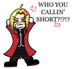 Edward Elric isn't Short