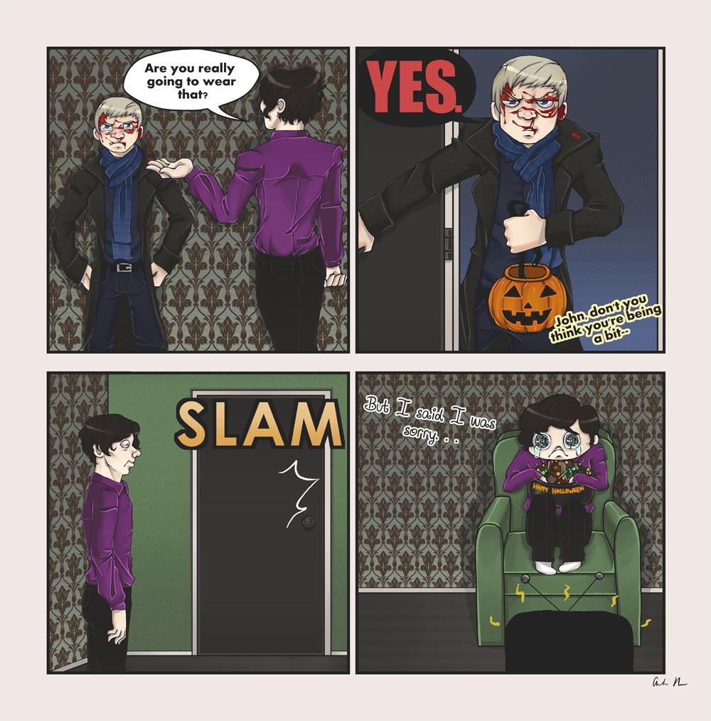 The Post-Reichenbach Halloween by Airafleeza