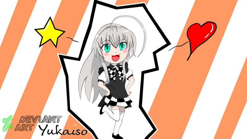 Fan Art Haiyore! Nyaruko-san by Yukaiso
