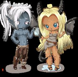 Kophyn and Karamikiya by Waitikka