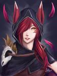 league of legends - Xayah [Fanart]