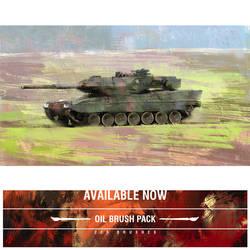 Tank Study by JDLBrushes