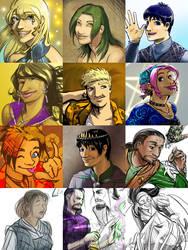 color sketch compilation
