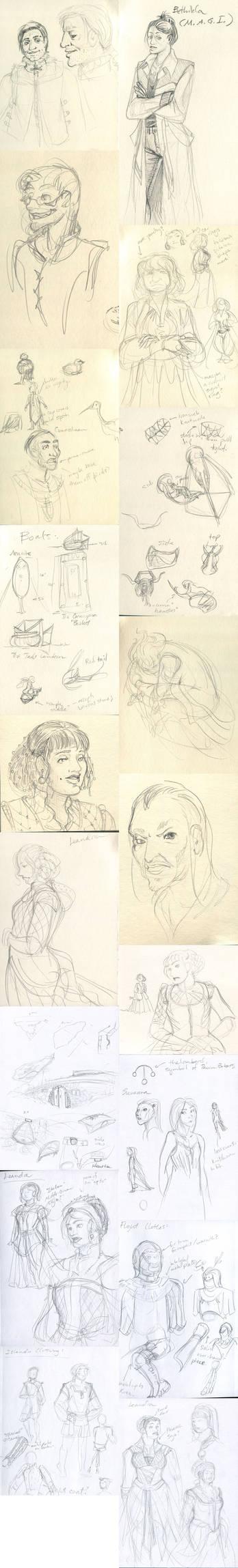 Sketch Dump 2012 No 3