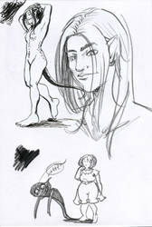 Lanik sketch +Shadow by Plotholetsi