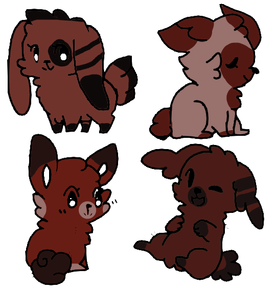 Demon Bunnys Adoption ( Open ) by KrystalCatGaming