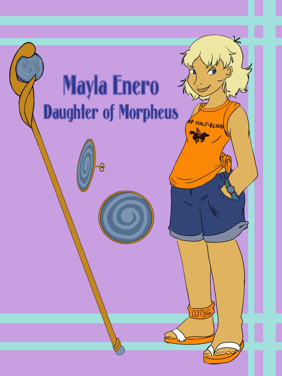 DR - Mayla Enero by Vixiana