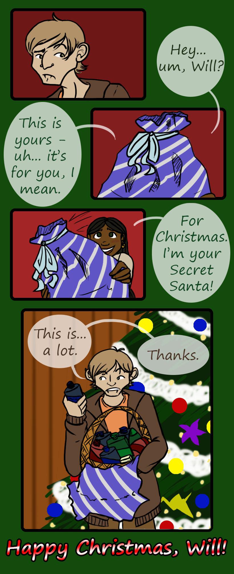 Dulce - Secret Santa by Vixiana