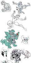 Dungeons and Doodles by chief-orc
