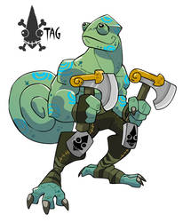 Sea Chameleon by chief-orc