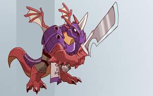 Kole the half-dragon by chief-orc