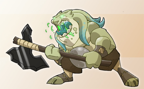 Plug the Dragonborn Barbarian by chief-orc