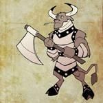Carver the Minotaur