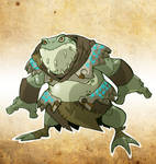 Bullywug Ranger by chief-orc