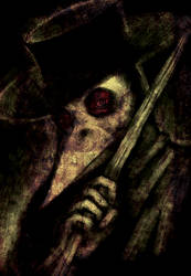 The Black Death: Plague Doctor by JackyGilbertson