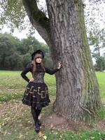 Frame Print Gothic Lolita by rufflesandsteam