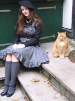 It's a cat's world... by rufflesandsteam