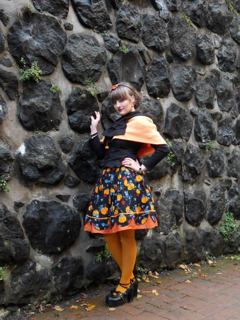 Halloween Lolita by rufflesandsteam