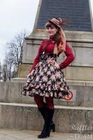 Classic (slightly Steampunk) Lolita by rufflesandsteam
