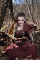 [STOCK] Shaman / Witch casting a spell 2 by rufflesandsteam