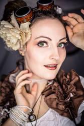 ~ Steampunk Portrait ~ by rufflesandsteam