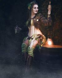 ~Dark Absinthe~ by rufflesandsteam