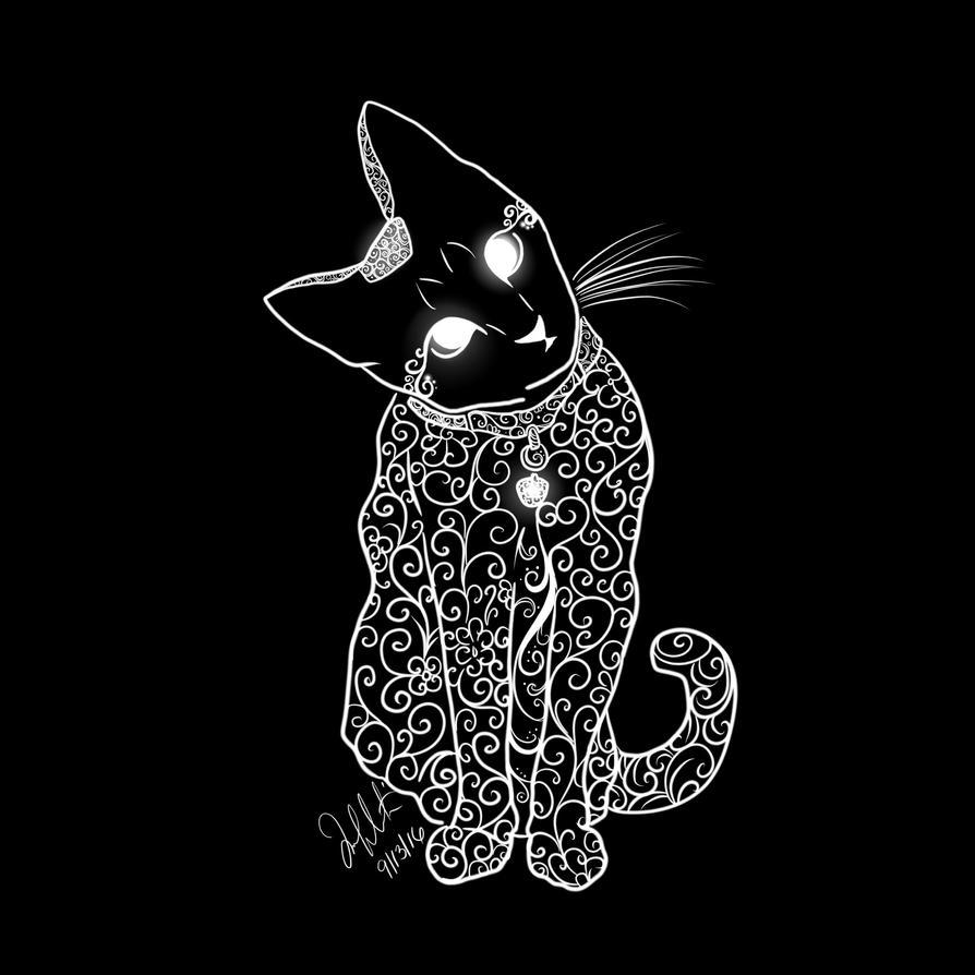 La nuit ne porte plus conseil - Page 2 _le_chat__by_garucca415-datf06f
