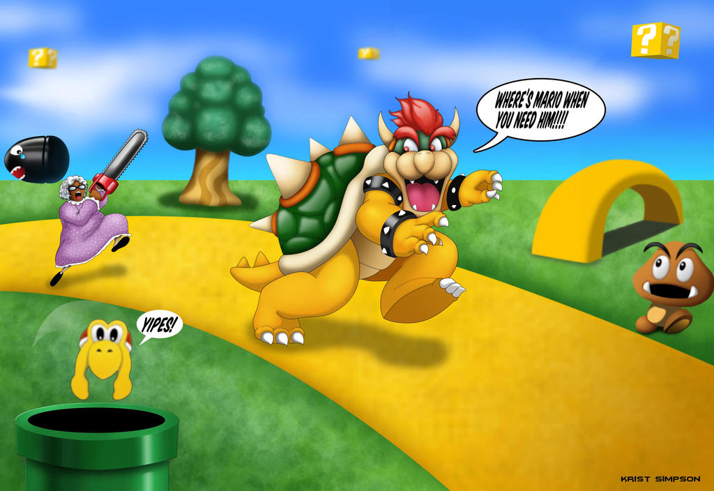 Bowser Meets Madea ver.3 by KristSimpson