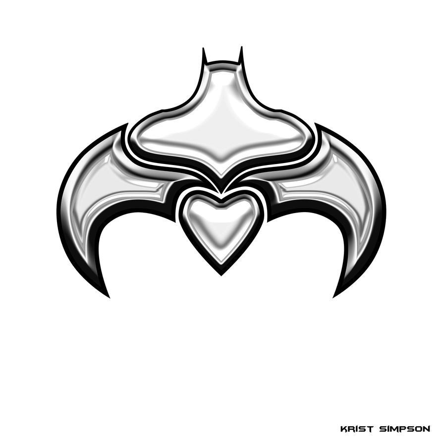 Bat Symbol Tattoo by KristSimpson