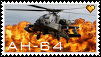 [Stamps] AH-64 Apache by FrostyFlakesX
