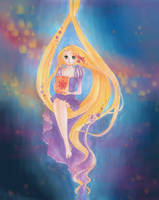 Rapunzel - A Lantern for You by acbunny