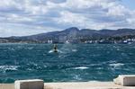 Tempete dans la rade de Toulon 1