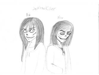 Old vs New: Jeff the Killer design