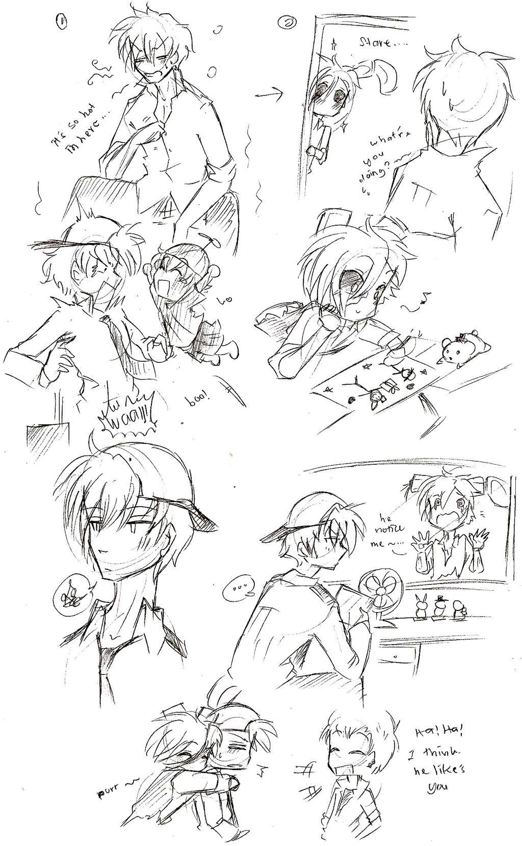 Just a lil flirt - 3 part 3