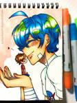 Earth-kun loves Human-kun!