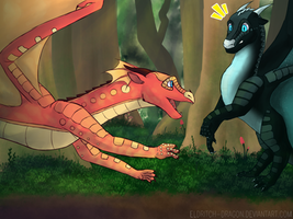 And then there was you .:CE:. by Eldritch-Dragon